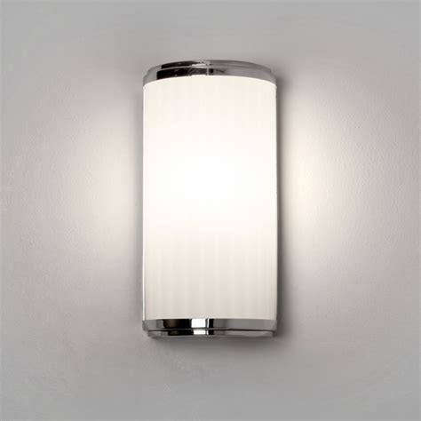 led bathroom wall lights uk astro lighting 7839 monza led 250 ip44 bathroom wall light