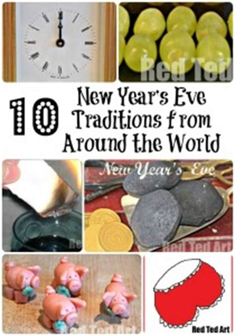 new year traditions and activities new year s crafts