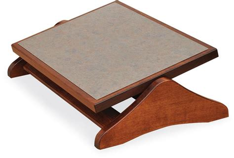 Desk Foot Stools by Amish Adjustable Footrest Amish Ottomans Footstools 44702