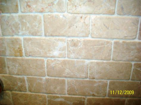 travertine wall shower tile cleaning stone cleaning and polishing tips