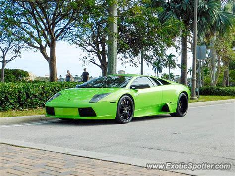 Lamborghini West Palm Lamborghini Murcielago Spotted In West Palm Florida