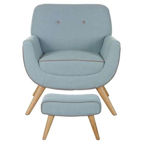 Duck Egg Blue Armchair by Skandi Duck Egg Armchair And Footstool Dunelm