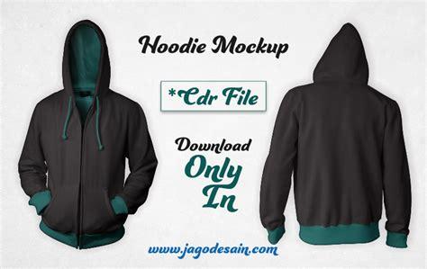 download desain jaket file cdr download mockup hoodie versi cdr gratis jago desain