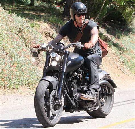 biker style motorcycle men beckham style motor 2 pinterest