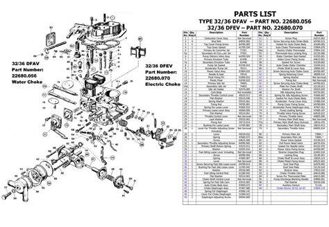 s s carb parts diagram carburetor