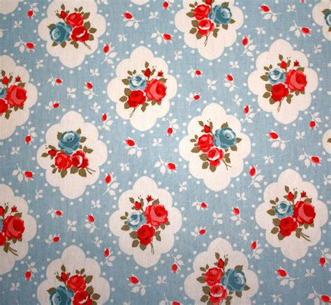 vintage floral oilcloth tablecloth by lammie co