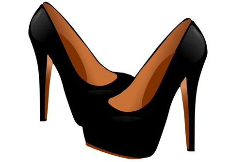free high heel shoes clip