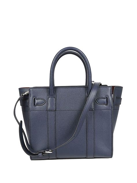 Embossed Tote mulberry mulberry logo embossed tote blue 10638784