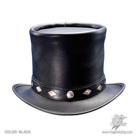 Top Hantshop n home stove piper leather top hat top hats