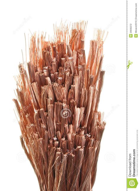 copper wires stock photography image 29035272