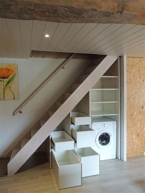 Meuble Dessous Escalier by Amenagement Dessous Escalier Finest Meubles Sous Escalier