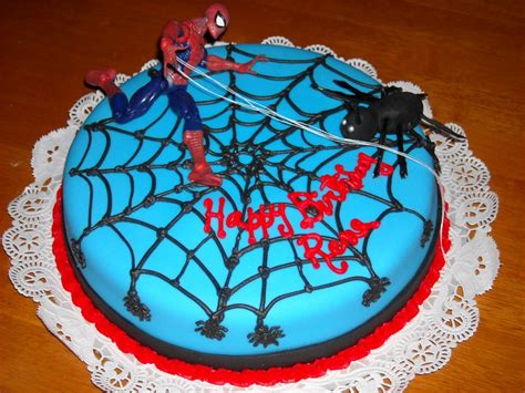 Spiderman Cakes ? Decoration Ideas   Little Birthday Cakes