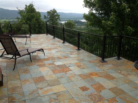 outdoor patio tile interlocking slate deck tiles contemporary patio