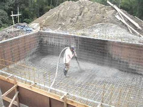 construcci 243 n de piscina en concreto lanzado youtube