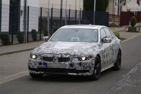 2018 bmw g20 2018 bmw 3 series g20 spied at the nurburgring it s far