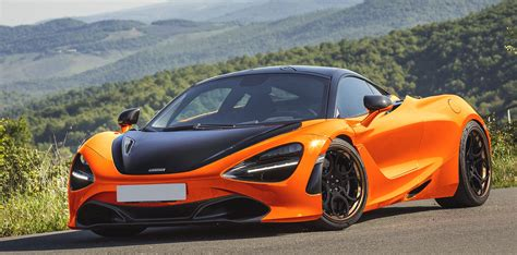 custom mclaren 720s rendering orange mclaren 720s adv05c track spec cs