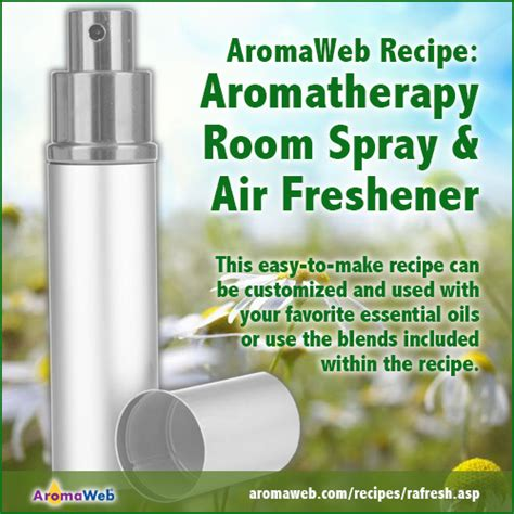 Room Freshener Recipe essential room spray and air freshener recipe aromaweb