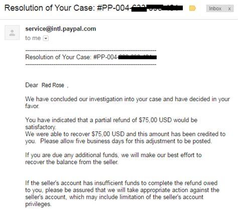 ebay dispute dispute paypal yang menegangkan my blog my life