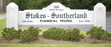welcome to stokes southerland funeral home funeral
