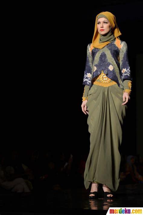 foto fashion show busana muslim merdeka foto keindahan tren terbaru busana muslim karya anak
