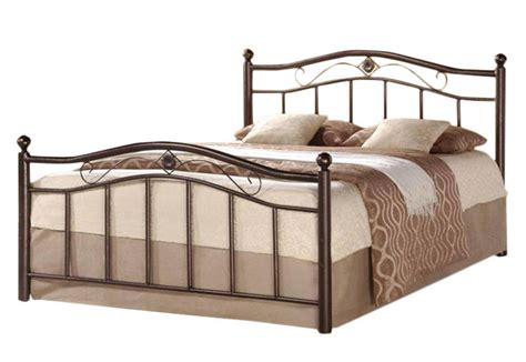 metal twin headboard and footboard greenhome123 bronze finish metal platform bed frame with