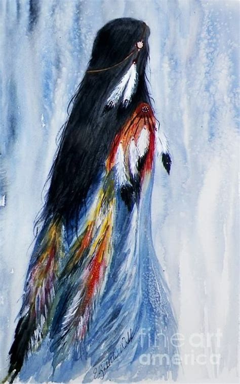 40 best native american paintings and art illustrations
