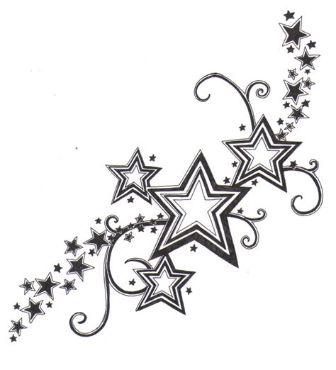 star side tattoo designs 10 design sles and ideas