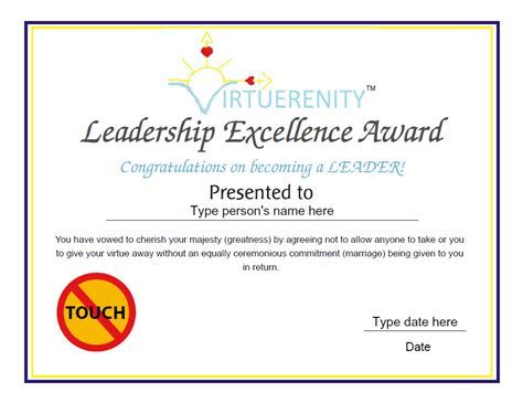 certificate of leadership template custom certificates leadership excellence award