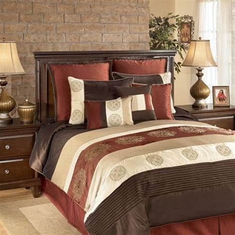 chocolate brown coverlet a bold striped bedding collection in hues of chocolate