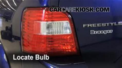 ford freestyle tail light replacement tail light change 2005 2007 ford freestyle 2007 ford