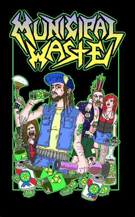 Mucipal Waste 19 best municipal waste images on thrash metal