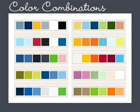 website colour combination web page color combinations