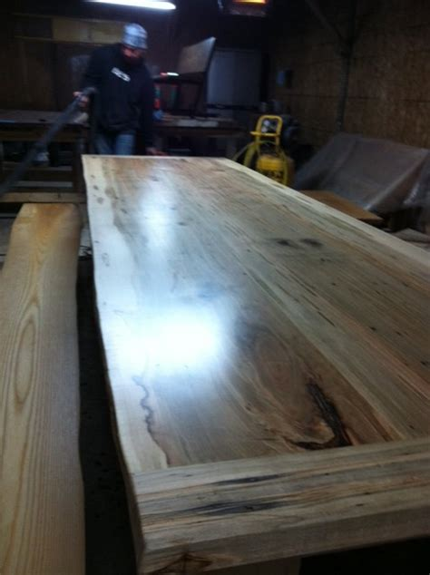 Live Edge Boardroom Table Live Edge Conference Table Boardroom Tables Contemporary Dining Room Toronto By Tree