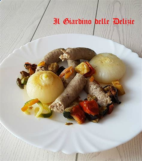 cucinare cipolle bianche salsiccia e cipolle bianche al microonde il giardino
