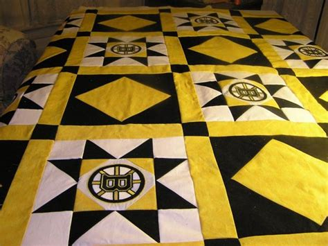 Boston Quilt by Boston Bruin S Quilt Top