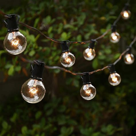 best string lights best outdoor string lights for the patio and the garden