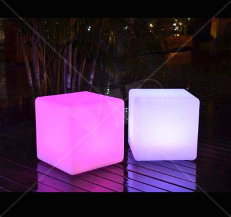 outdoor led light cube outdoor light cube colour changing outdoor light cube by