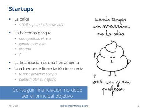 Mba En Espaã A by Introducci 243 N A La Financiaci 243 N De Startups Para