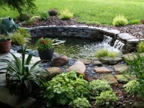 diy backyard pond ideas diy easy landscaping ideas with low budget
