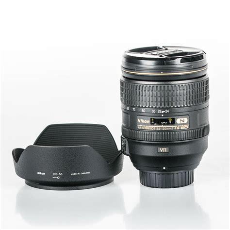 Nikon Af S 24 120mm F 4g Ed Vr White Box nikon nikkor af s 24 120mm f 4g ed vr lens white box ebay