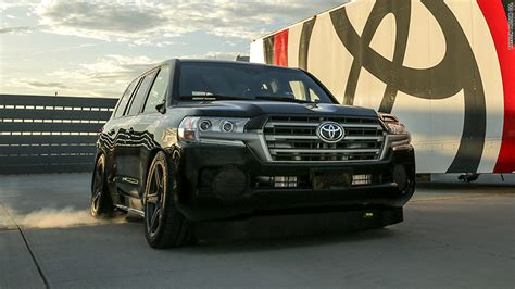 toyota claims world s fastest suv title may 5 2017