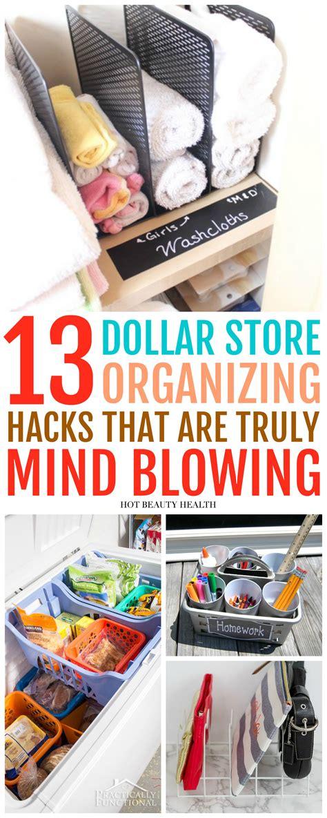 dollar store hacks 13 creative dollar store organizing hacks you ll love