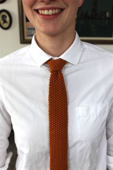 tying knitting 17 best ideas about knit tie on shirt and tie