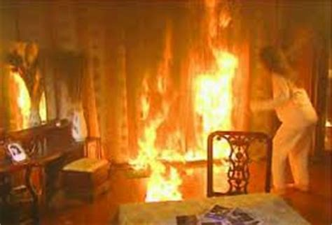 window on a burning books resistant curtains make your place safe curtain