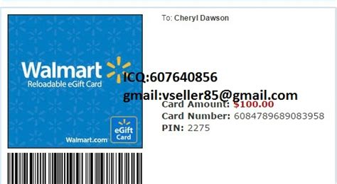 Walmart Gift Card Number And Pin Generator - itunes gift card walmart photo 1