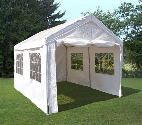pavillon 3x4 wasserdicht mit seitenteile profizelt pavillon partyzelt festzelt 3x4 meter pvc wei 223