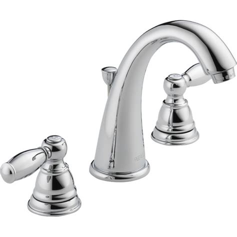 wayfair bathroom faucets peerless faucets widespread bathroom faucet with double