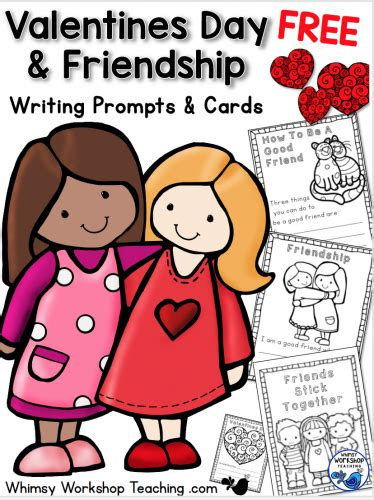 valentines day writing prompts free valentines day writing prompts whimsy workshop teaching