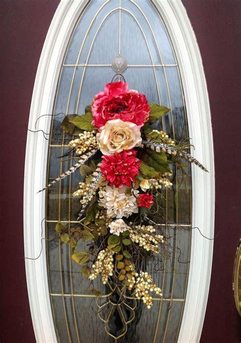 twig door swags forsythia door swag swags pinterest door spring wreath summer wreath teardrop door twig swag
