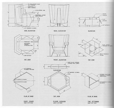 Origami Plans - frank lloyd wright chair plans best home design 2018